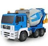ซื้อ Babybear Cement Mixer Truck Double Eagle รถโม่ปูนบังคับวิทยุ 6 Ch สเกล 1 20 ถูก