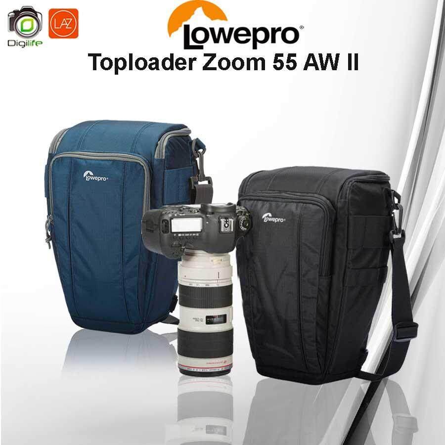 Lowepro Camera Bag Toploader Zoom 55 AW II - กระเป๋ากล้อง Digilife Shop