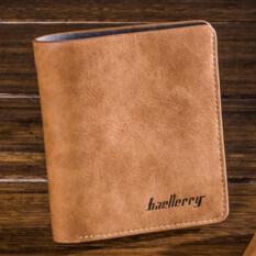 ขาย Baellerry กระเป๋าสตางค์ ผู้ชาย กระเป๋าเงิน กระเป๋าตัง บาง ทรงสั้น Wallet Vertical Mens Luxury Leather Credit Id Card Holder Baellerry Billfold Coin Purse Brown Baellerry ผู้ค้าส่ง