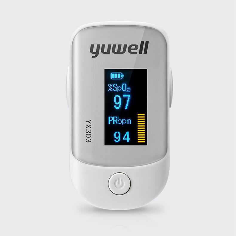 Oximeter 303/301 Finger Clip Medical Blood Oxygen Saturation Test Home Use Finger Pulse Detector.