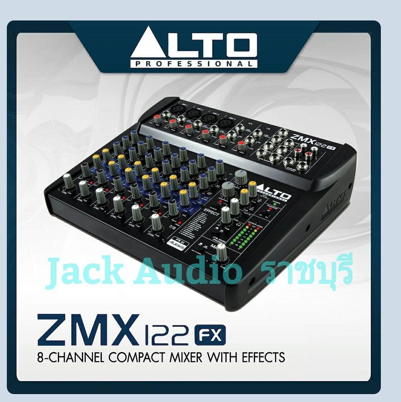 มิกเซอร์ 8 Ch Alto Zmx122fx ของแท้ 100 % !!!!! By Jack Audio Ratchaburi.
