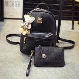 ราคา Bag Dd กระเป๋าสะพายหลัง เป้สำหรับสตรี สไตล์เกาหลี รุ่น599 สีดำ เป็นต้นฉบับ