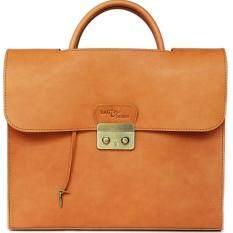 ขาย Bag In Design กระเป๋าหนังแท้ใส่เอกสาร Laptop14 หรือ Macbook13 Natural Tan ราคาถูกที่สุด