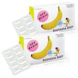 โปรโมชั่น Banana Diet อาหารเสริมควบคุมน้ำหนัก สารสกัดจากกล้วย 10 แคปซูล X 2 กล่อง แถมฟรี Bio C Vitamin Alpha Zinc 1 500 Mg 30 เม็ด มูลค่า 590 บาท กรุงเทพมหานคร