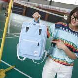 ทบทวน ที่สุด Banana Shop กระเป๋าเป้สะพายหลัง กระเป๋าเป้เกาหลี กระเป๋าสะพายหลังผู้หญิง Backpack Women รุ่น Lp 091 สีฟ้า Int One Size