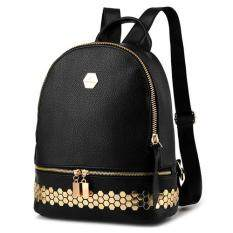 ราคา Banana Shop กระเป๋าเป้สะพายหลัง กระเป๋าเป้เกาหลี กระเป๋าสะพายหลังผู้หญิง Backpack Women รุ่น Lp 092 สีดำ Int One Size B Nana Bag เป็นต้นฉบับ