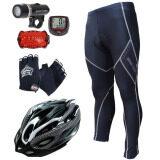 ขาย ซื้อ Basecamp กางเกงปั่นจักรยานขายาว รุ่น Bc 02 สีดำ หมวกจักรยาน สีน้ำเงิน Sunding ไมค์จักรยาน สีแดง ไฟชุดจักรยานรุ่น Wj 101 สีดำ ถุงมือฟรีไชค์ หมาป่าสีดำ