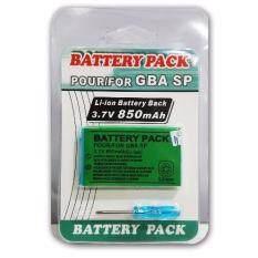 แบตเตอรี่สำหรับเครื่องเล่นเกมพกพา Battery Pack GBA SP/SP Brighter (OEM)