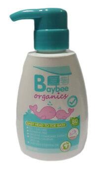 BAYBEE เจลอาบน้ำ สระผมเด็ก ออร์แกนิค กลิ่นลาเวนเดอร์ 250ml.