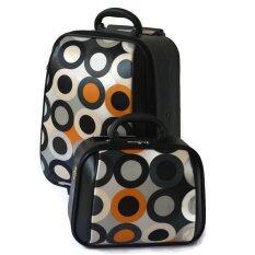 ขาย ซื้อ Bb Shop กระเป๋าเดินทาง 18 12 นิ้ว เซ็ทคู่ Code Bb 3 Circles Blue