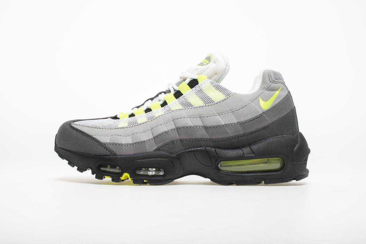 Nike Air Max 95 OG Mens Running Shoes Mesh Breathable Stability Support Sports Sneakers For Men