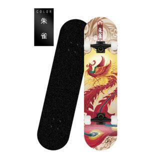 [Đẹp trai máu] Ván trượt ván bốn bánh ván trượt ván đôi ván trượt phong cách nam và nữ Ván trượt đường bộ có thể có hoa văn thumbnail
