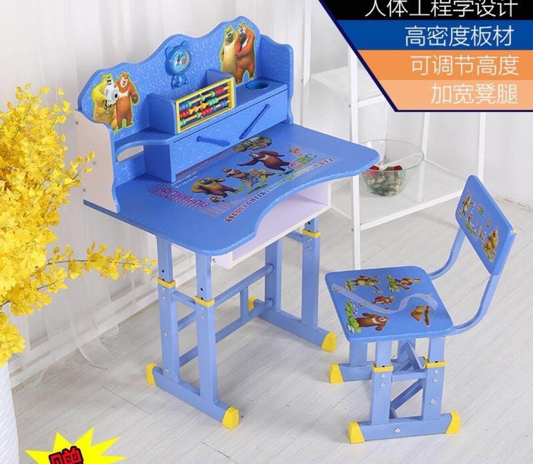 Amazing โต๊ะเขียนหนังสือเด็ก โต๊ะอ่านหนังสือ โต๊ะทำการบ้านเด็ก By Sunding Shop.