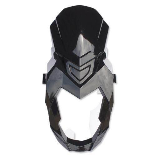 BBB หน้ากาก+คาง (ABS) สำหรับ ZOOMER-X เก่า สีดำ/ดำ