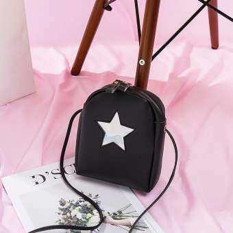 GUC กระเป๋าสะพายข้างแต่งด้วยรูปดาว(B742)-