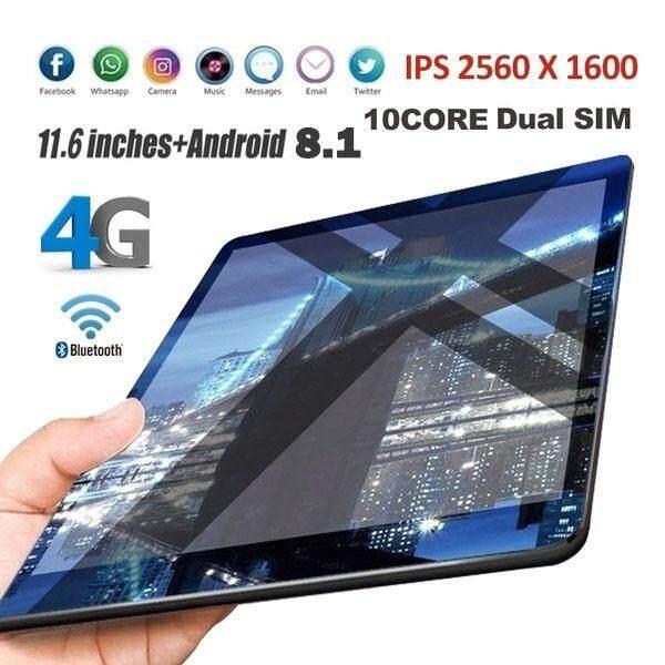 【จัดส่งฟรี】ขายด่วน แบรนด์ใหม่ Tablet Pc แท็บเล็ต 11.6 นิ้ว 2560 * 1600 Ips แท็บเล็ตพีซี Android 8.1 แท็บเล็ตที่ใช้หน่วยความจำ 6g และหน่วยความจำฮาร์ดแวร์ 128g Wifi Tablet.