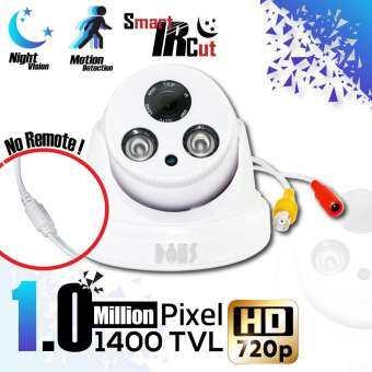กล้องวงจรปิดเดี่ยว / CCTV CAMERA กล้อง Analog(CVBS) ทรงโดม 1400 TVL / 960H