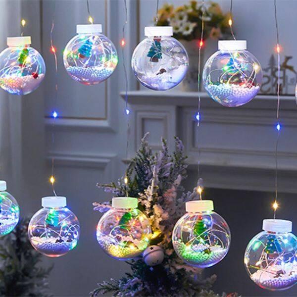 Bảng giá SEMARY Trang Chủ Tiệc Cưới Giáng Sinh Cây Thông Noel Người Tuyết Ông Già Noel Bóng Thủy Tinh Chuỗi Ánh Sáng Quả Cầu Trang Trí Cho Cây Thông Noel Trang Trí Giáng Sinh Ánh Sáng Rèm