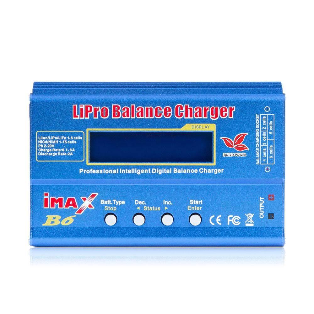 Imax B6 12V Battery Charger 80W Lipro Balance Charger Nimh Li-Ion Ni-Cd Digital Rc Charger 12V 6A Power Adapter Charger(No Plug)