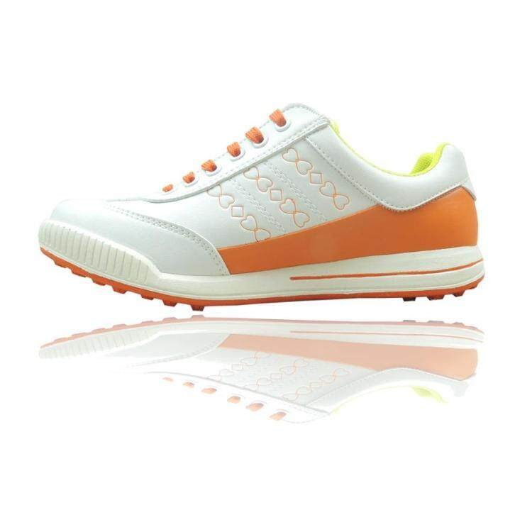 Model baru kaiersn sepatu golf Model Wanita GOLF Sepatu bola Schick  bernapas Produk Asli casual tanpa 59a1072c6b