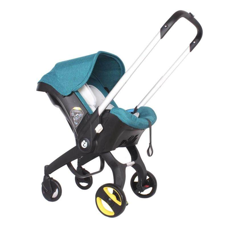 [ready stock] Safety Baby Stroller Multifunction 4 in 1 Double Way Folding Safety Stroller for Infant Baby Singapore
