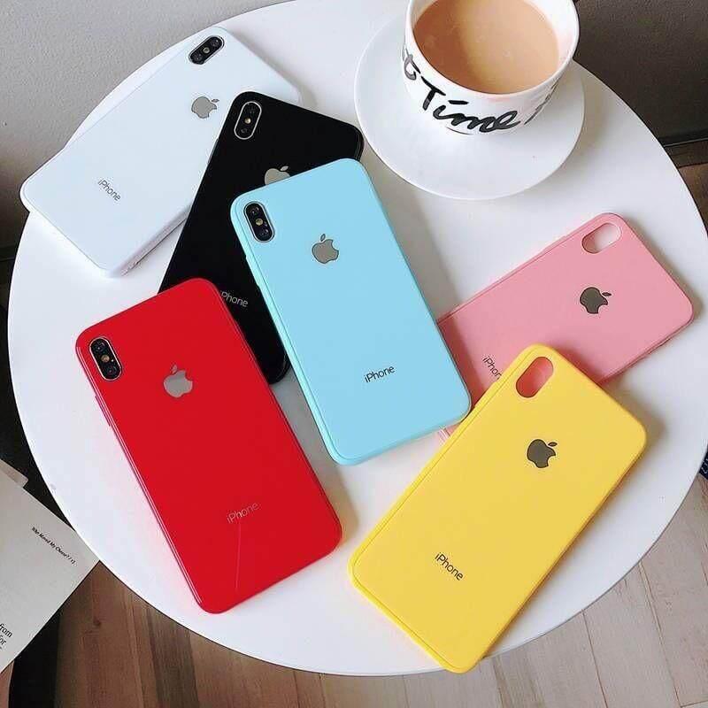 99฿ Shop Case Iphone มีรุ่น 6g/6s-6plus/6splus-7g/8g-7plus/8plus-X/xs-Xr-Xsmax เคสมือถือดีไซน์สวย ด้านหลังเป็นกระจก ขอบนิ่ม.