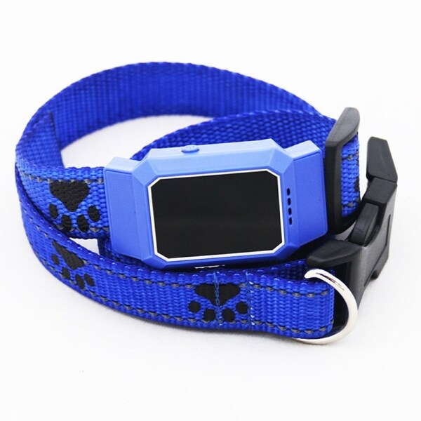 Pet Smart Mini GPS Tracker Dog Collar for Pet Dogs Cats Tracing Locator GPS Tracking Device Anti-Lost Tracer