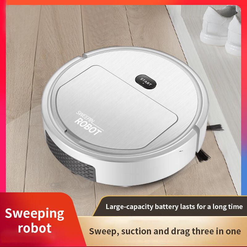 IYO085 สมาร์ทกวาดหุ่นยนต์มินิชาร์จเครื่องทำความสะอาดอัตโนมัติขี้เกียจเครื่องดูดฝุ่นบ้าน
