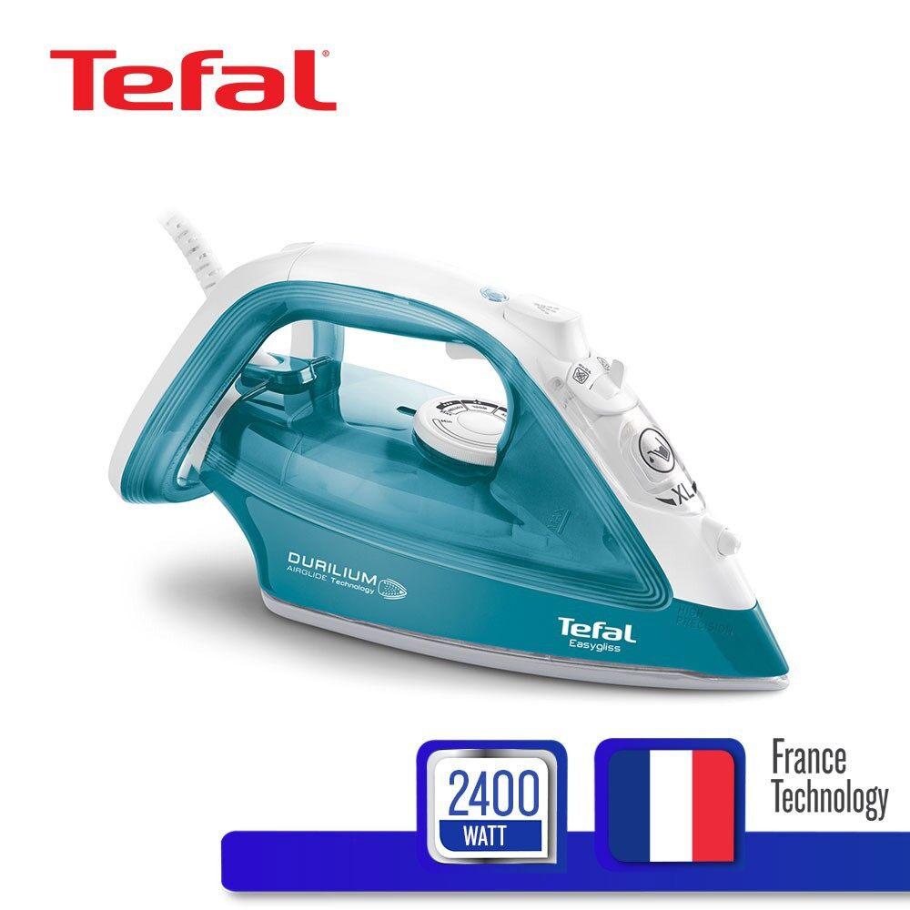 ***ส่งฟรี100% -- Tefal เตารีดไอน้ำ กำลังไฟ 2400 วัตต์ 270ml - เครื่องรีดไอน้ำ เตารีดแห้ง เครื่องรีดถนอมผ้า เตารีด  ถนอมผ้า เตารีดไอน้ํา เตารีดพกพา มือถือ เครื่องรีดผ้า ที่รีดผ้า เตาอบผ้า ซัก อบ รีด ผ้า Iron Steam Ironing Machine Sharp Toshiba Philips Otto.