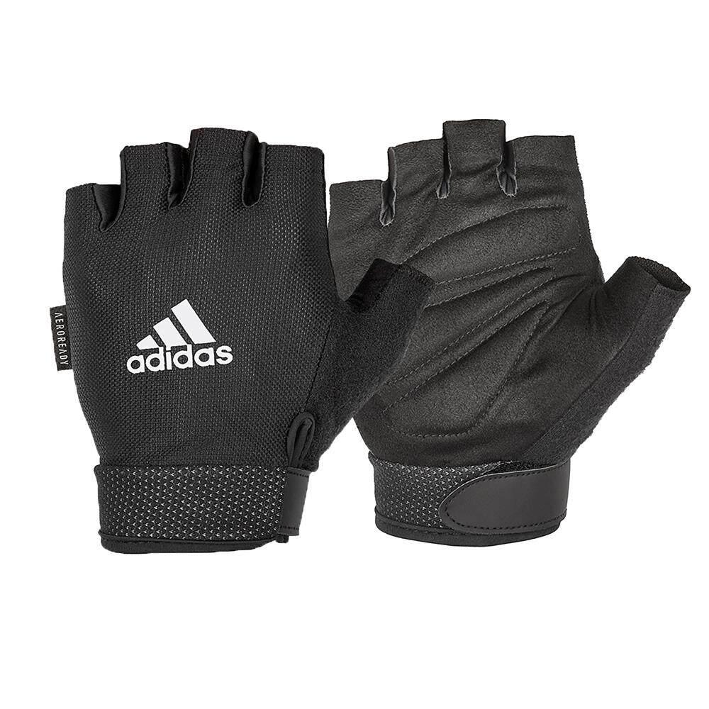 Adidas ถุงมือ Essential Adjustable (สีขาว) 1 คู่.
