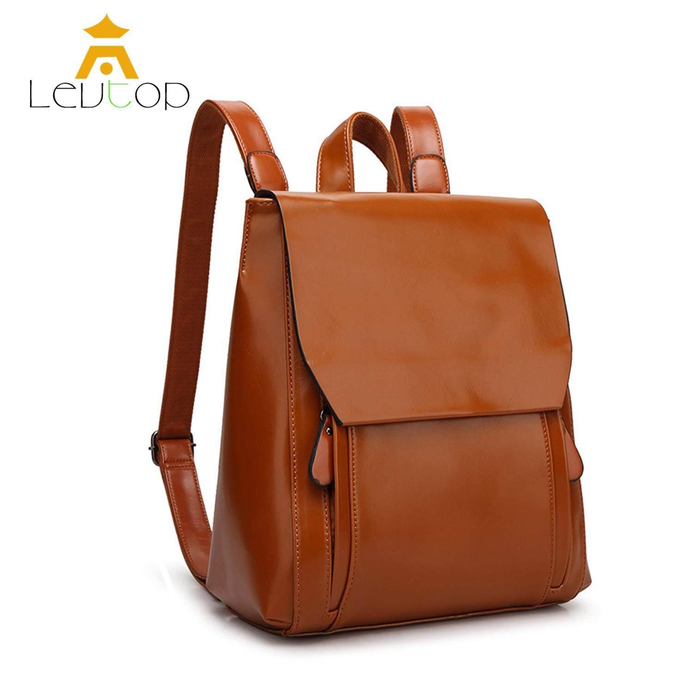 LEVTOP Women Backpack Travel Shoulder Bag School Korean Anti Theft Back  Pack Handbag Sling Bag Cross ded100c802852