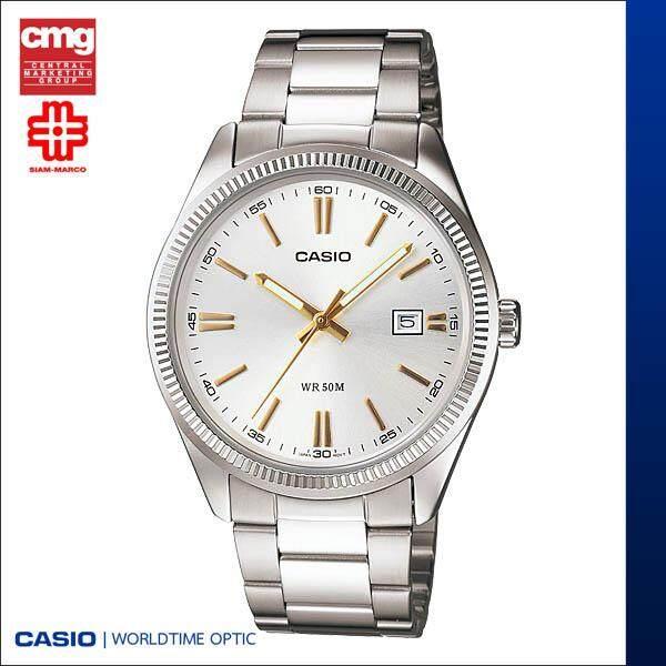 Casio นาฬิกาข้อมือ รุ่น Mtp-1302d-7a2vdf By Worldtime Optic.