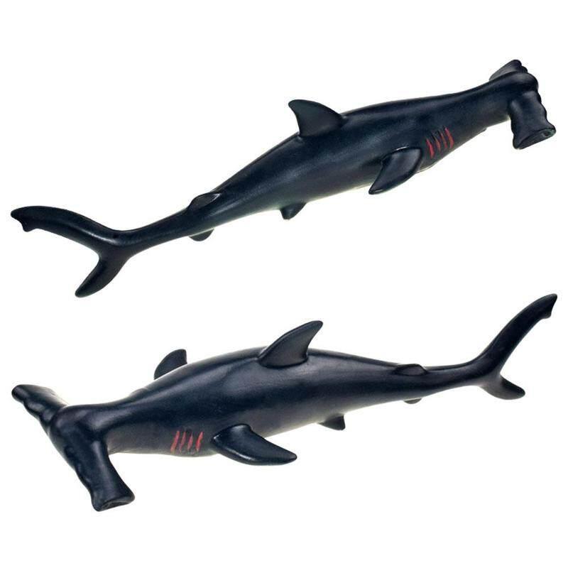 Lifelike Shark Shaped Toy Realistic Motion Animal Model Kid Gift 17cm