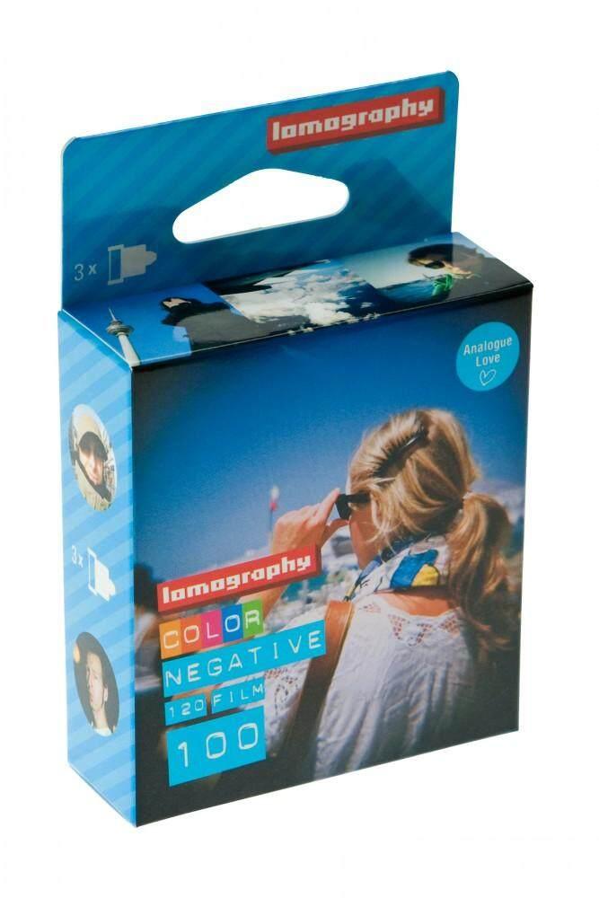 ฟิล์มสี 1 Pack 3 ม้วน Lomography Color Negative 100 120 Medium Format ฟิล์ม Lomo Film.