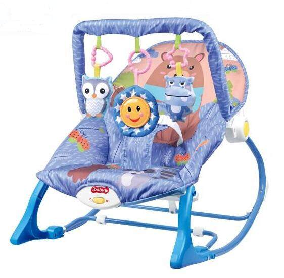 Morestech เปลโยก-สั่น มีเสียงเพลง ibaby Infant-to-toddler Rocker