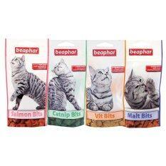 ราคา Beaphar ขนมแมว เซท 4 รส Cat Bits Set 4 ซอง ใน กรุงเทพมหานคร