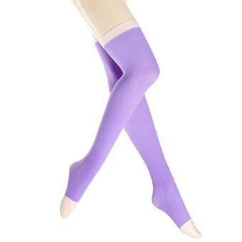 Beauty item ถุงน่องขาเรียว แบบกลางคืน - สีม่วง