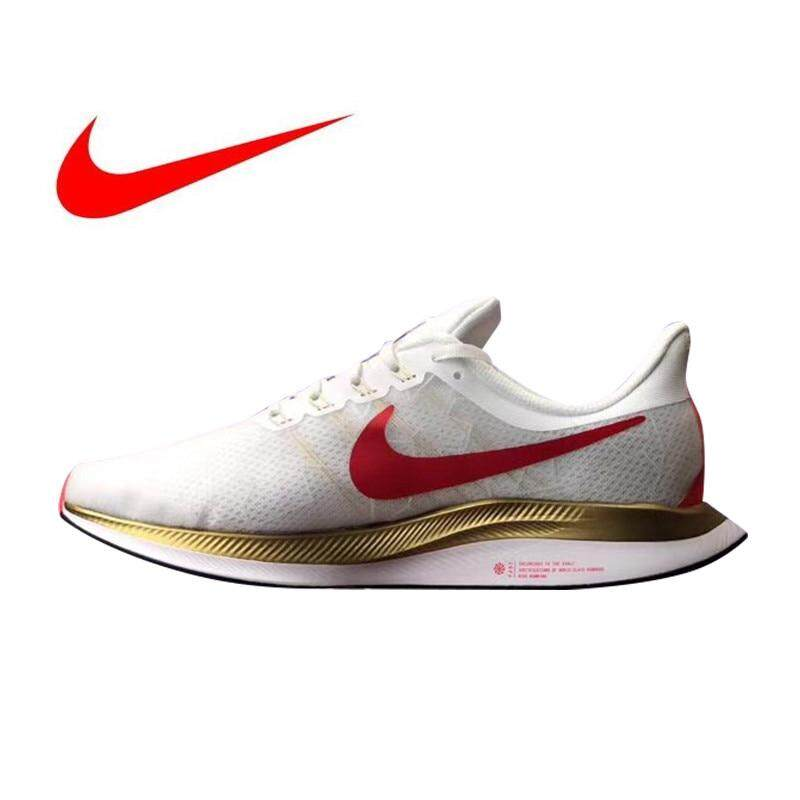 more photos 19d18 e53b0 Nike Zoom Pegasus 35 Turbo men running shoes women's skate shoes Unisex  sneakers Nike shoes lightweight and breathable white