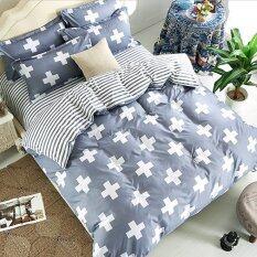 ทบทวน ที่สุด Bedding Cheap ชุดผ้าปู ผ้านวม 6 ชิ้น 6 ฟุต ยี่ห้อ Fs303