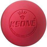 Begins ลูกบอลนวด คลายกล้ามเนื้อ Lacrosse Rubber Massage Ball สีแดง ไทย
