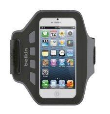 ราคา Belkin Easefit Armband For Iphone 5 5S สายรัดแขนออกกำลังกาย สีดำ เทา Thailand
