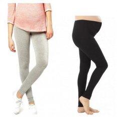 ราคา Benita Maternity Leggings กางเกงเลกกิ้งคนท้องขายาว แพค 2 ตัว สีดำ สีเทา Benita กรุงเทพมหานคร