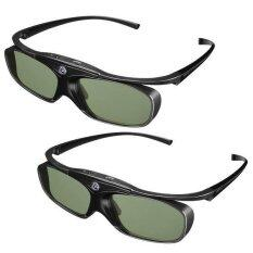 Benq แว่นตา 3D แบบ Active Shutter For Dlp Projector ยี่ห้อ Benq แพคคู่ สีดำ เป็นต้นฉบับ