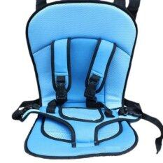 Best Car Child Safety Seat Portable Baby Car Seat Cover Auto Protect Childrens Seat Cushion, Suitable For 5 Months -4 Years Old Kidsเบาะที่นั่งในรถเด็ก (blue) By Dmall.