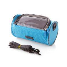 ขาย Best Hs Cycling Pouch Front Rainproof Bicycle Panniers Tube Bag Bike Bags Bicycle Bag อุปกรณ์เสริมสำหรับจักรยาน กระเป๋าใส่มือถือติดจักรยาน Hsmb0008 Blue Best ออนไลน์