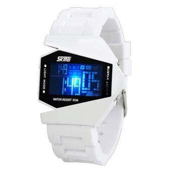 BEST Kids นาฬิกาข้อมือเด็กชาย สีขาว สายเรซิ่น รุ่น Carton-