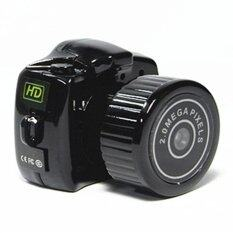BEST L Outdoor sports camera recorder กล้อง Mini DV Camera Y2000 (Black)