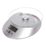 ขาย Best Tempered Glass Electronic Kitchen Scale Max 5Kg ตาชั่งตวงอาหาร Digital เครื่องชั่งน้ำหนักอาหา ขนาดพกพา Ds0001 White ถูก ใน ไทย