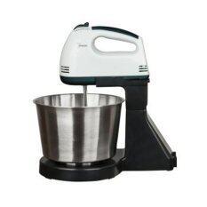 BEST Tmall Electric Mixer เครื่องผสมอาหารสแตนเลสคุณภาพสูง  เครื่องผสมอาหารแบบมือถือ  (white black)
