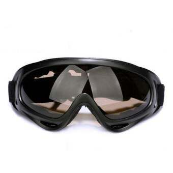 BEST X400 แว่นตากันน้ำสงกรานต์ For Songkran Glasses สงกรานต์ Outdoor Sports Bicycle Explosion-proof Glasses - Brown